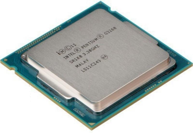 Intel 3.30 LGA 1150 Pentium G3260 Processor(Silver)