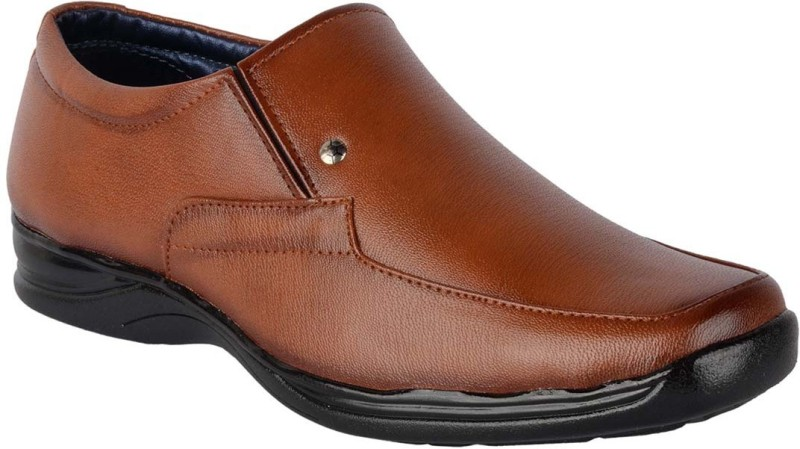 ShoeAdda Slip On For Men(Tan)