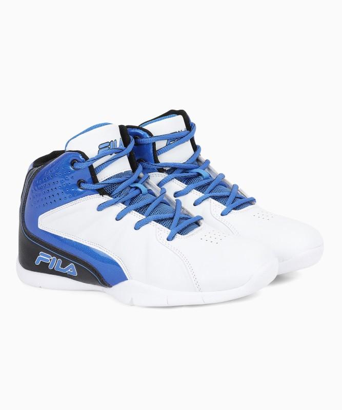 Fila Basketball Shoes For Men(Blue, White)
