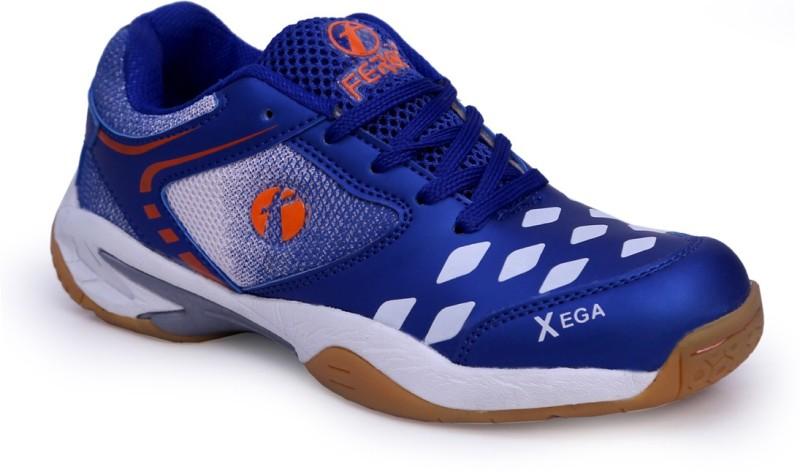 Feroc xega Blue Badminton Shoes For Men(Blue)