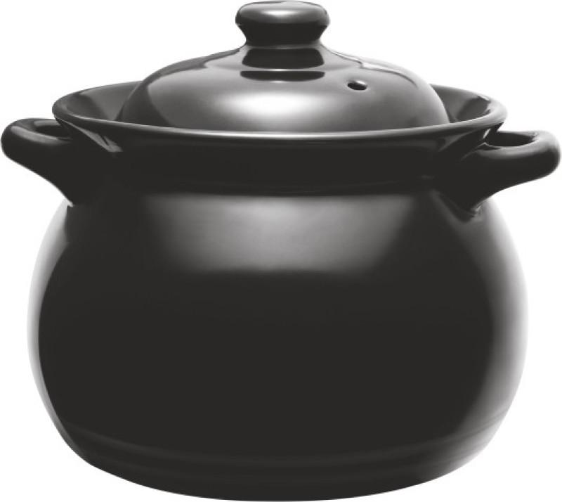 EZRA Treo cooking pot / case role / fire safe/ 2500 ml Tagine(Black)