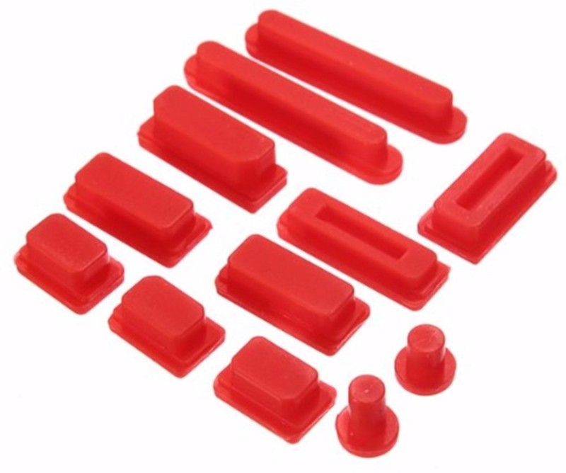 Heartly USB Red Anti-dust Plug(Laptop Pack of 1)