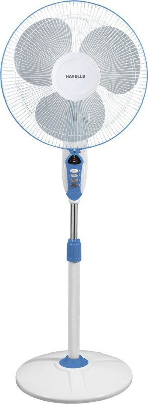 Havells 400 MM SPRINT LED BLUE PEDESTAL FAN 3 Blade Pedestal Fan(Blue)