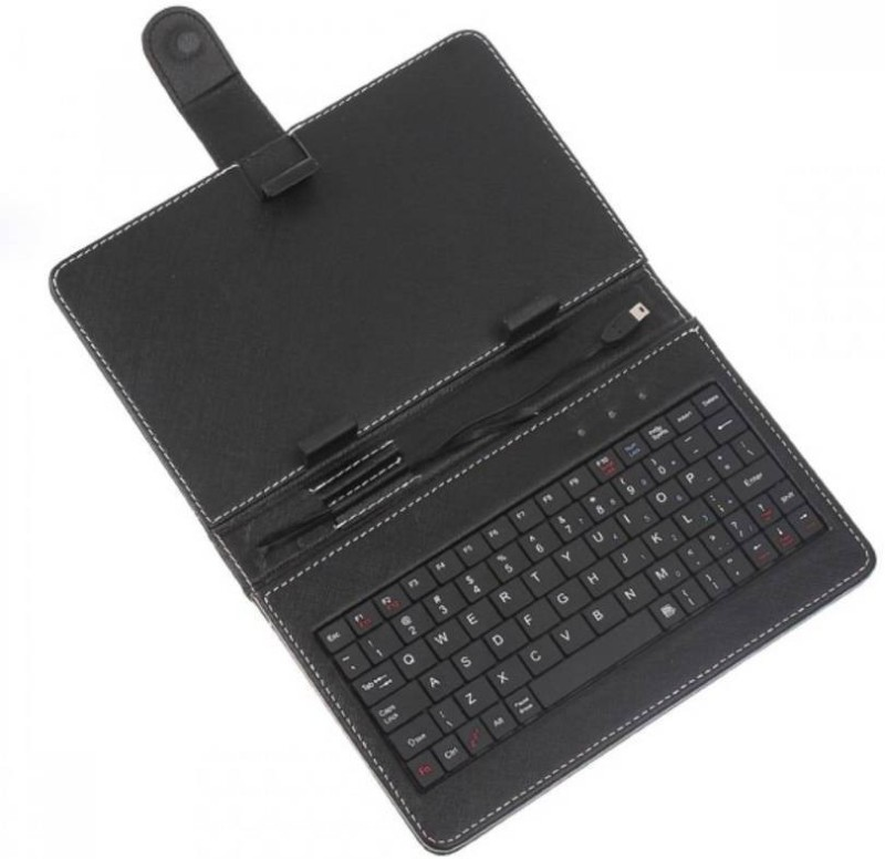 Samsung tab compatible 10 inch Wired USB Tablet Keyboard(Black)