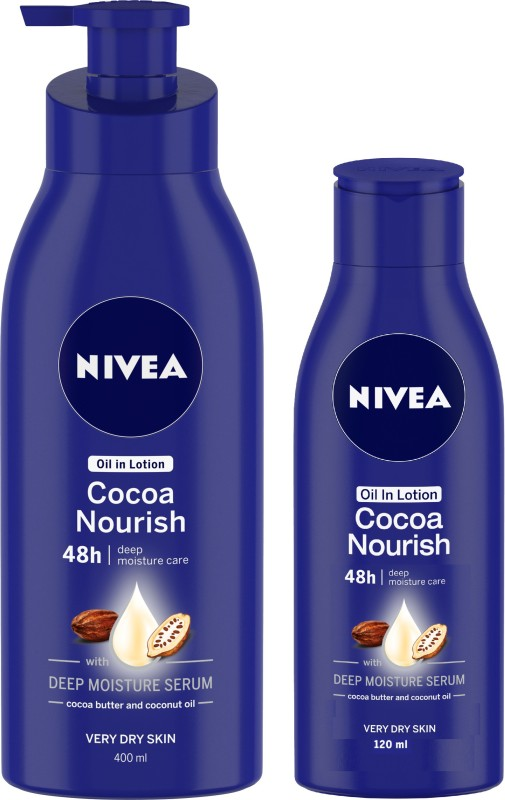 Nivea Cocoa Nourish Oil in Lotion(520 ml)