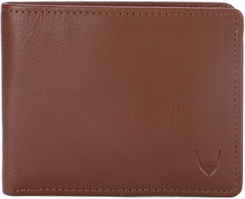 Hidesign Men Tan Genuine Leather Wallet(3 Card Slots)