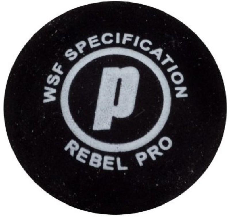 Prince Rebel Double Yellow Dot Squash Ball 7Q741280 Squash Ball(Pack of 1, Black)