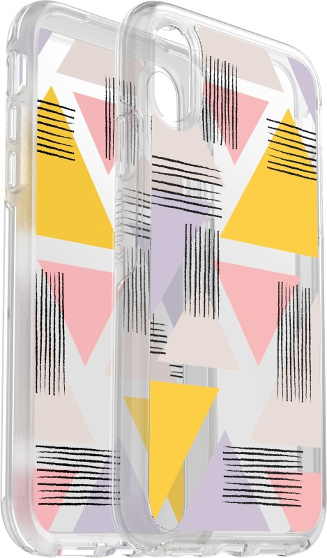 OtterBox Back Cover for Apple iPhone XS(Symmetry Love Triangle, Shock Proof)