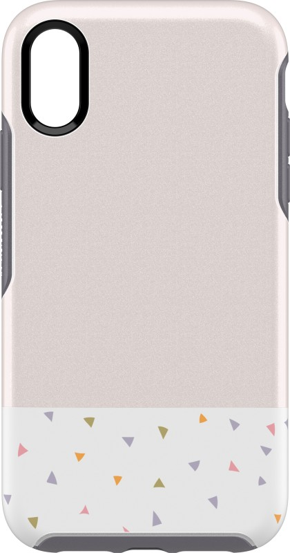 OtterBox Back Cover for Apple iPhone XS(Symmetry Party Dip, Shock Proof)