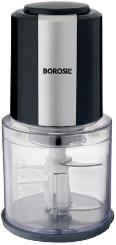 Borosil Chefdelite Electric Vegetable Chopper(1 Chopper Motor With Blades, 1 Chopping Bowl Capacity 600ml, 1 Instruction Manual)