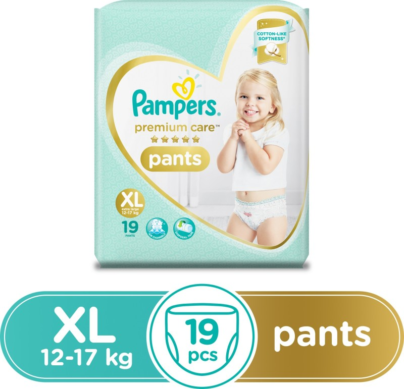 Pampers Premium Care Pants Diapers - XL(19 Pieces)