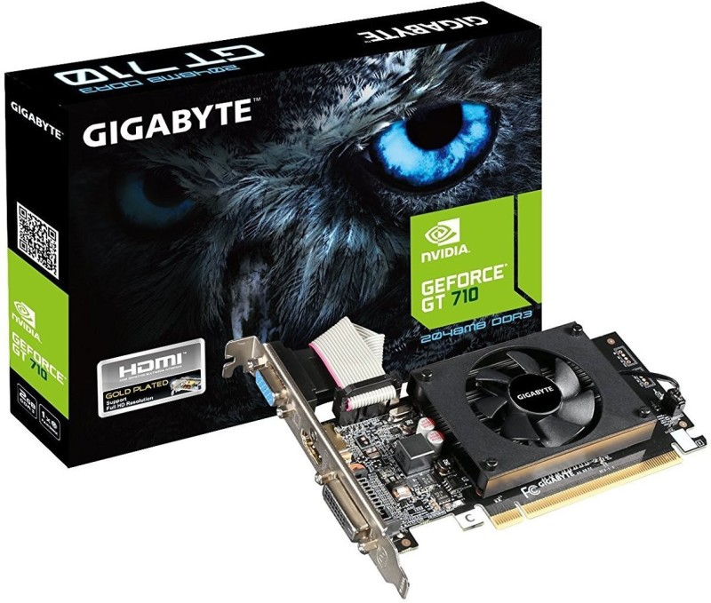 Gigabyte NVIDIA GV-N710D3-2GL REV2.0 2 GB DDR3 Graphics Card