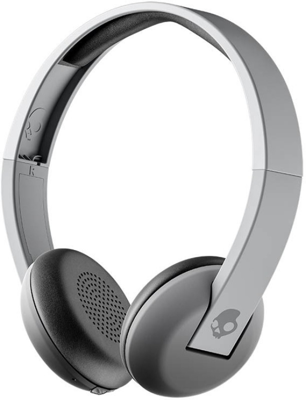 Skullcandy Uproar Bluetooth Headset with Mic(Street Gray, On the Ear)