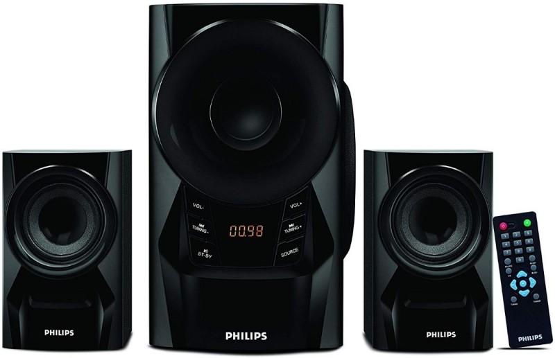 Philips IN-MMS6080B/94 2.1 Channel Multimedia Speakers 2.1 Home Cinema(DVD)