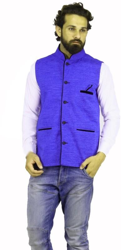 PSK Sleeveless Solid Mens Jacket