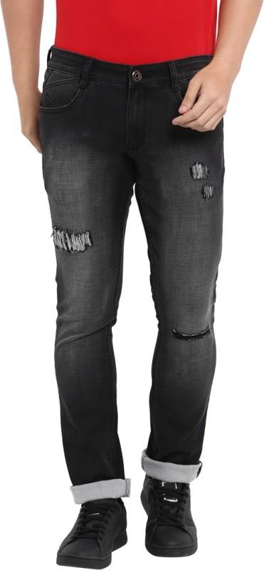 Parx Slim Men Black Jeans
