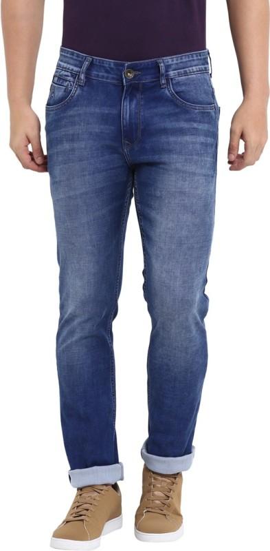 Parx Slim Men Dark Blue Jeans