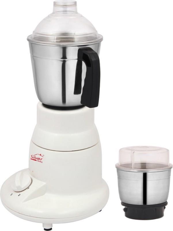 Silver Home Champ dlex 450 W Mixer Grinder(White, 2 Jars)