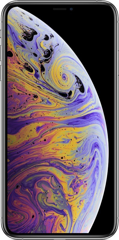Apple iPhone XS Max (Silver, 64 GB)