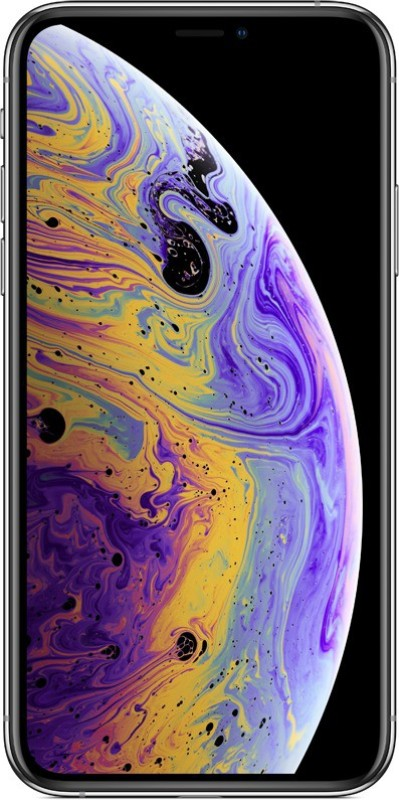 Apple iPhone XS (Silver, 256 GB)