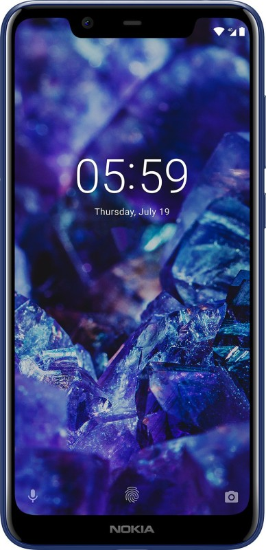 Nokia 5.1 Plus (Blue, 32 GB)(3 GB RAM)
