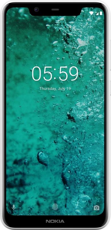 Nokia 5.1 Plus (White, 32 GB)(3 GB RAM)