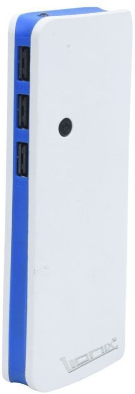 Lionix 20000 Power Bank (3 USB Port, P3 Fast Ultra)(Blue, Lithium-ion)