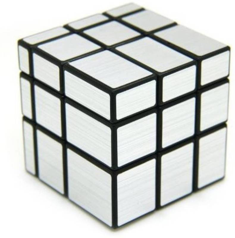 Miss & Chief Silver Mirror High Speed Rubik Magic Cube