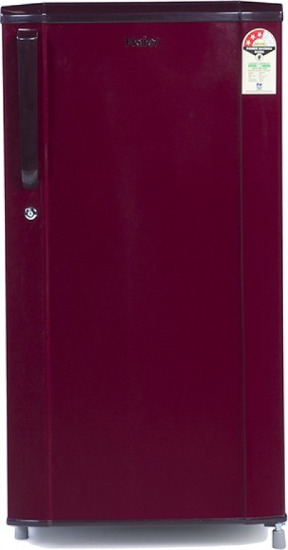 Haier 181 L Direct Cool Single Door 3 Star Refrigerator(Burgundy Red, HRD-1813SR-R/E)
