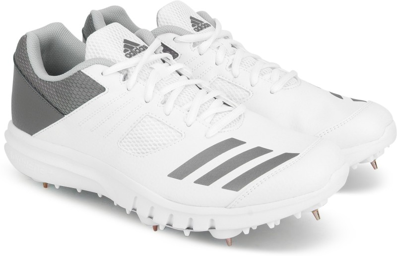 ADIDAS HOWZAT SPIKE Cricket Shoe For Men(White)