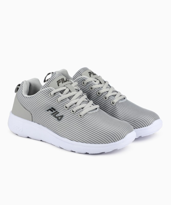 Fila YORK W Running Shoes For Women(Grey)