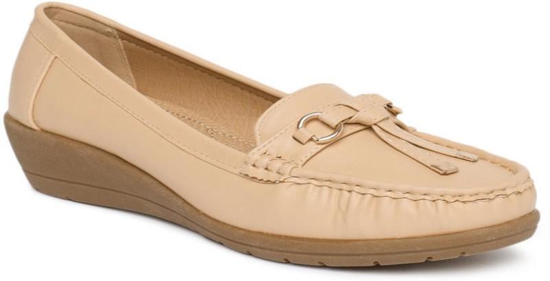 Addons Loafers For Women(Beige)