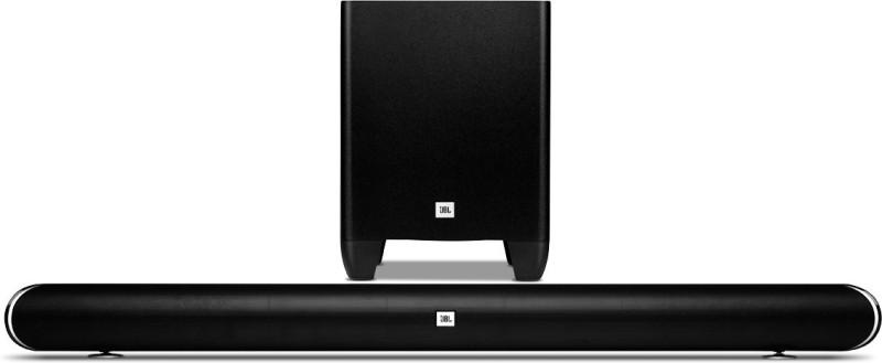 JBL Cinema SB350 Wireless Bluetooth Soundbar(Black, 2.1 Channel)