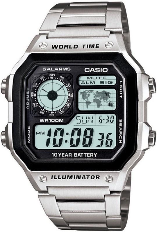 Casio D099 Youth Digital ( AE-1200WHD-1AVDF ) Digital Watch - For Men