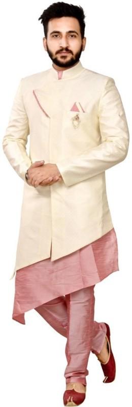 SG RAJASAHAB Men Kurta, Ethnic Jacket and Pyjama Set