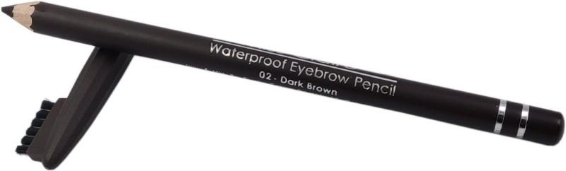 One Personal Care Waterproof Eyebrow Pencil | Shade 02(Dark Brown)