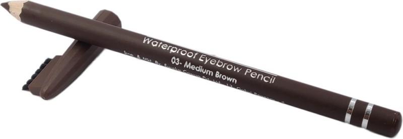 One Personal Care Waterproof Eyebrow Pencil | Shade 03(Medium Brown)