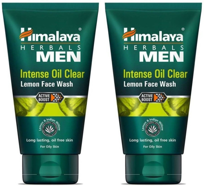 Himalaya Intense Oil Clear Lemon Face Wash (100 ml) PACK OF 2 Face Wash(200 ml)