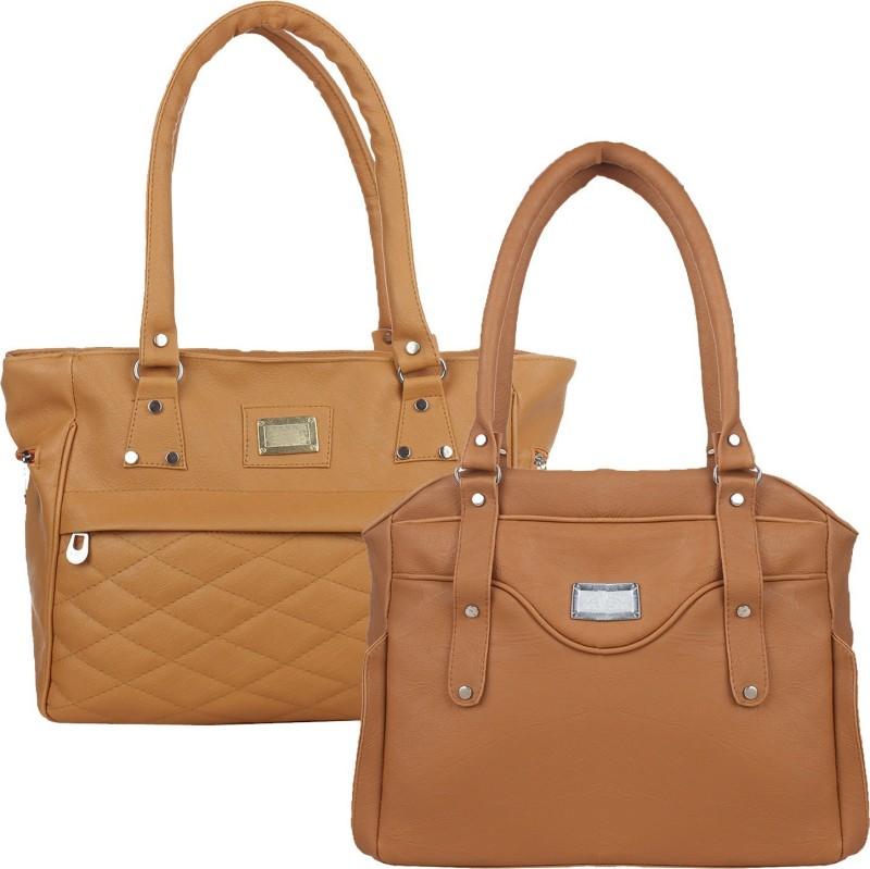 Fillincart Women Tan, Brown Hand-held Bag
