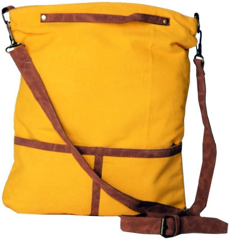 Karpasam Women Yellow Hand-held Bag
