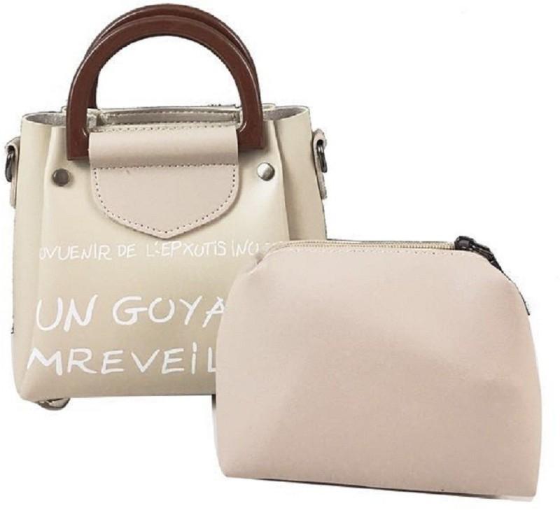Mei&Ge Women Gold Messenger Bag