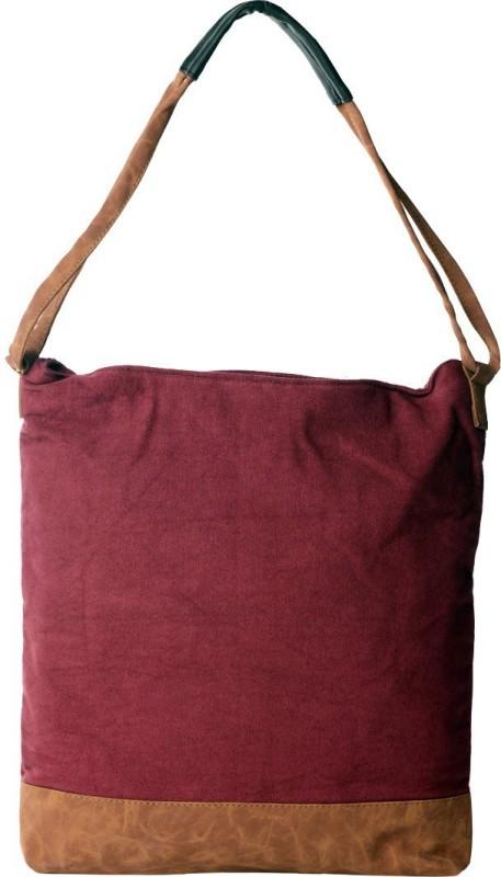 Karpasam Women Maroon Hand-held Bag