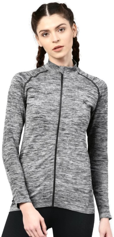 HRX by Hrithik Roshan Full Sleeve Self Design Women Jacket