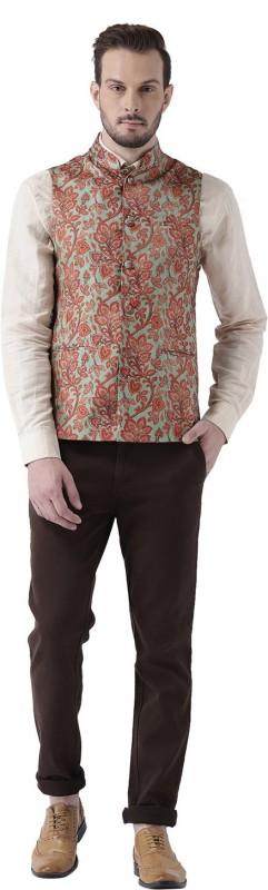 Kisah Sleeveless Floral Print Men Jacket
