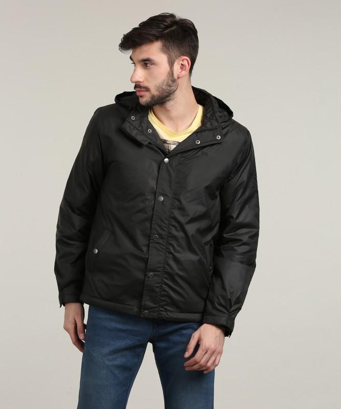 Lee Full Sleeve Solid Men Jacket