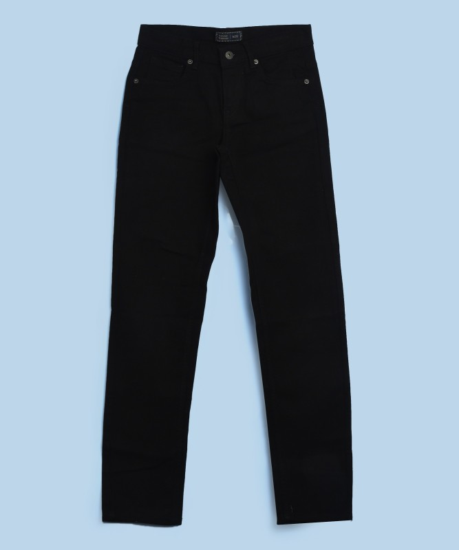 Indian Terrain Regular Men Black Jeans