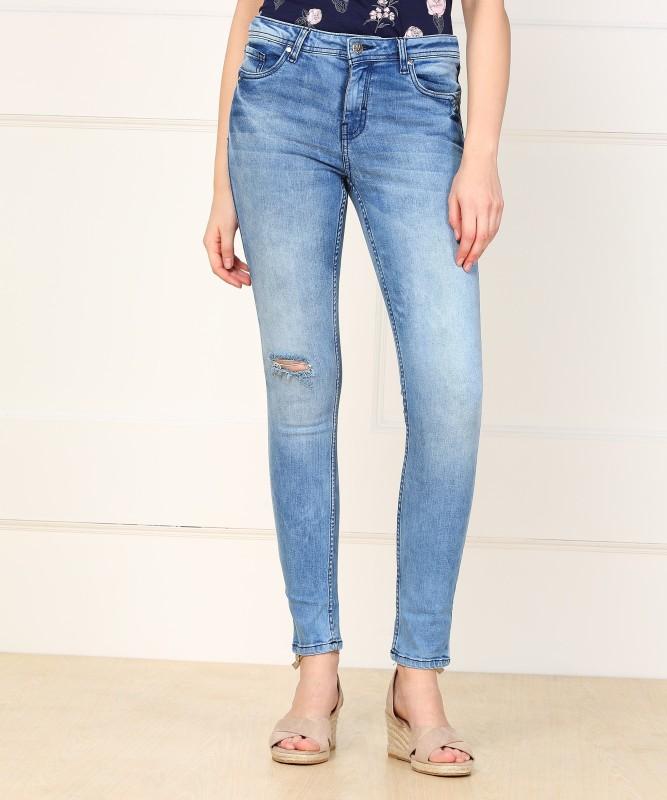 Allen Solly Skinny Women Blue Jeans