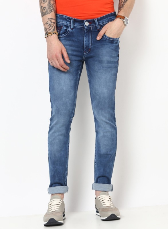 Monte Carlo Regular Men Blue Jeans