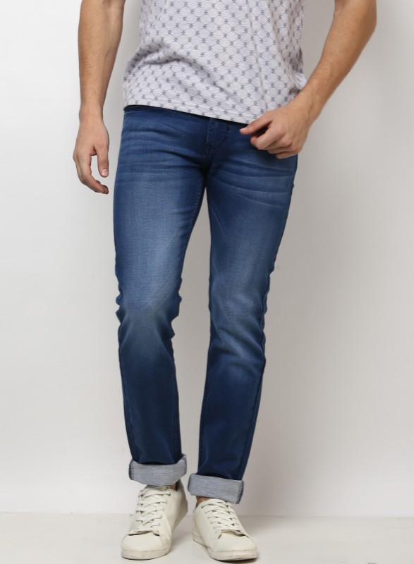Monte Carlo Slim Men Light Blue Jeans