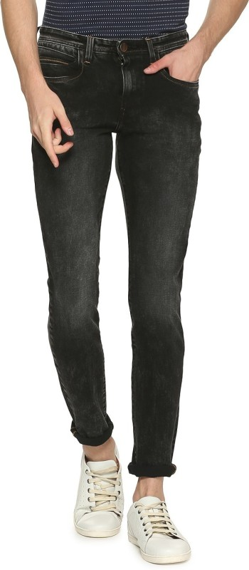 Van Heusen Skinny Men Black Jeans